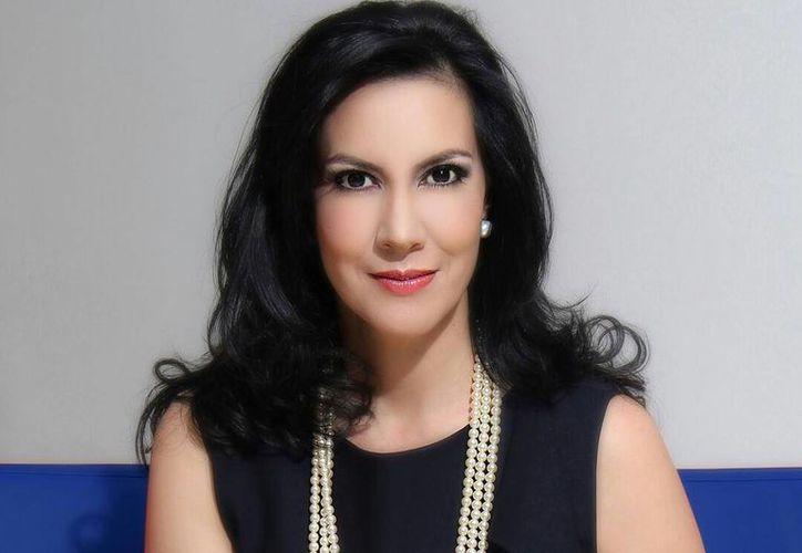 Zury Ríos Sosa, hija del controversial general retirado Efraín Ríos Montt, sería la candidata presidencial del partido de derecha Visión con Valores (Viva). (Facebook de Zury Ríos)