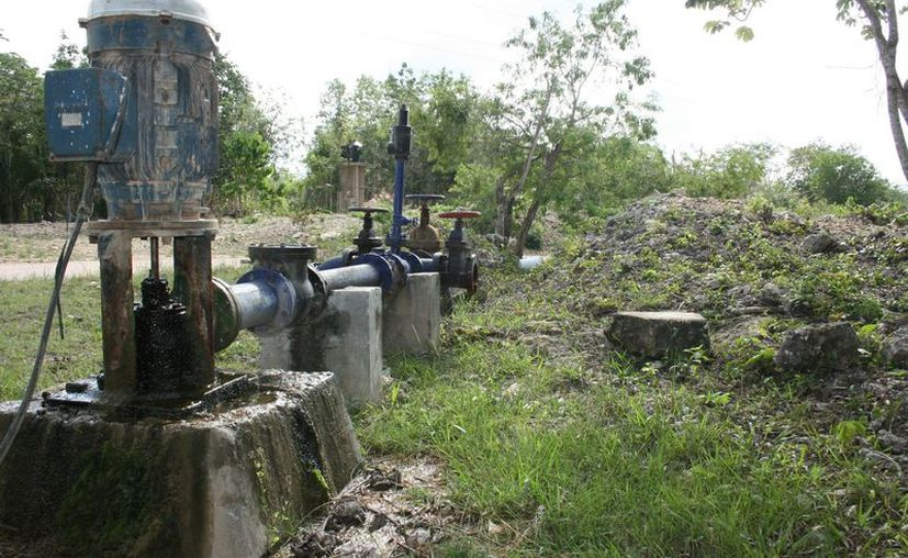 La intención es llevar al servicio del agua y drenaje a la franja costera de Tulum. (Foto: Sara Cauich/SIPSE).