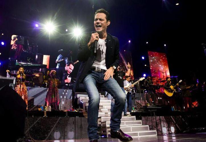 Marc Anthony ha ganado cinco premios Grammy Latino y dos más de los Grammy de Estados Unidos.(Notimex)