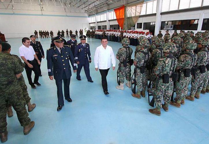La Base Aérea Militar de Cozumel será el punto de encuentro. (Cortesía/SIPSE)