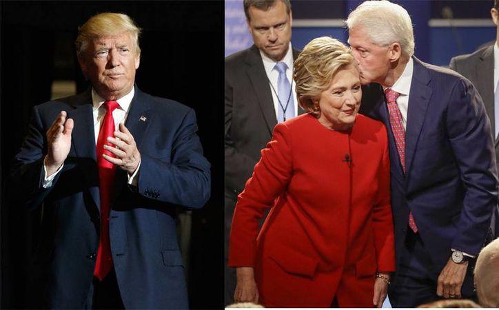 Donald Trump ha utilizado Bill Clinton para atacar a su rival Hillary Clinton. (AP)