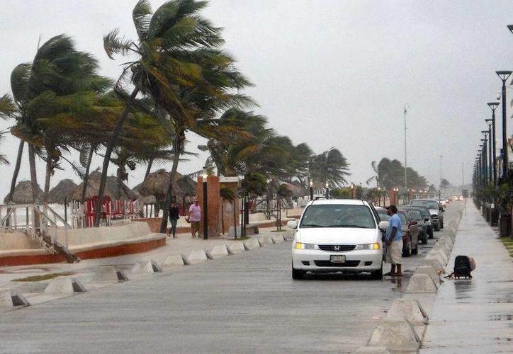 El puerto de Progreso fue uno de los lugares de Yucatán que más resintieron los efectos del frente frío 23. (SIPSE)