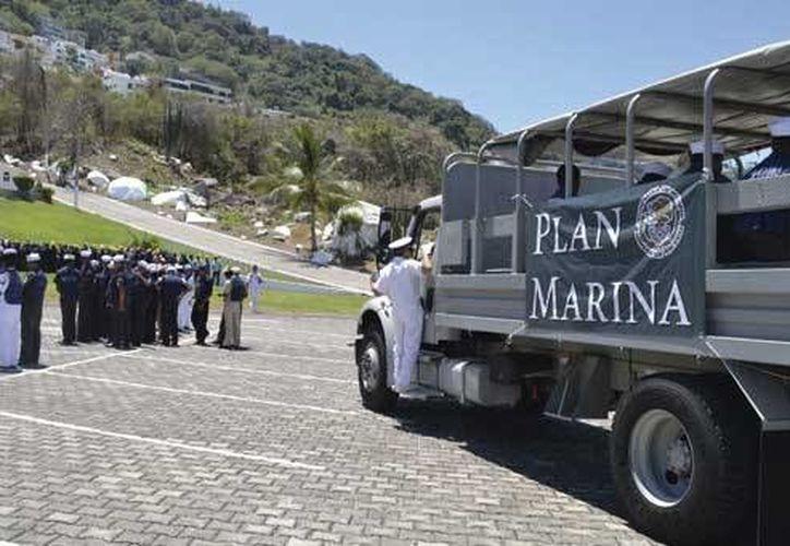 La Secretaría de Marina coordinó el simulacro de prevención y desalojo ante la eventual llegada de un tsunami a Campeche. (semar.gob.mx)