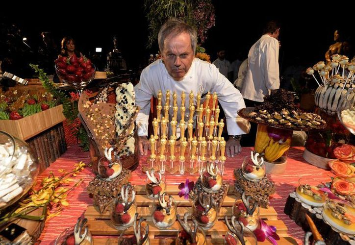 En la fiesta del Oscar se entregan copias del premio realizadas en chocolate y bañadas en láminas de oro, como un bonito consuelo para quien no consiga el  de verdad. (EFE)