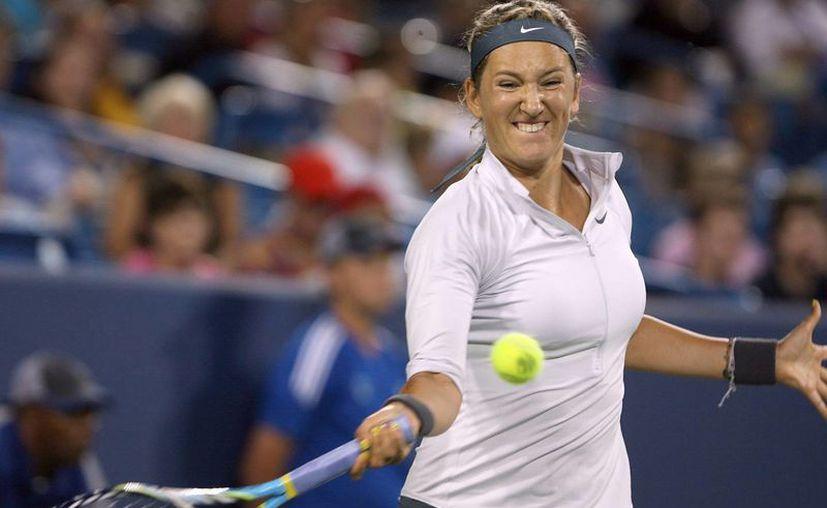 Azarenka (foto) se ha enfrentado en 15 ocasiones a Serena Williams. (EFE)