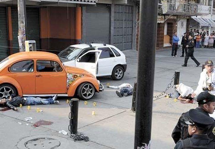 Los hechos delictivos son comunes en Iztapalapa. (Agencias)