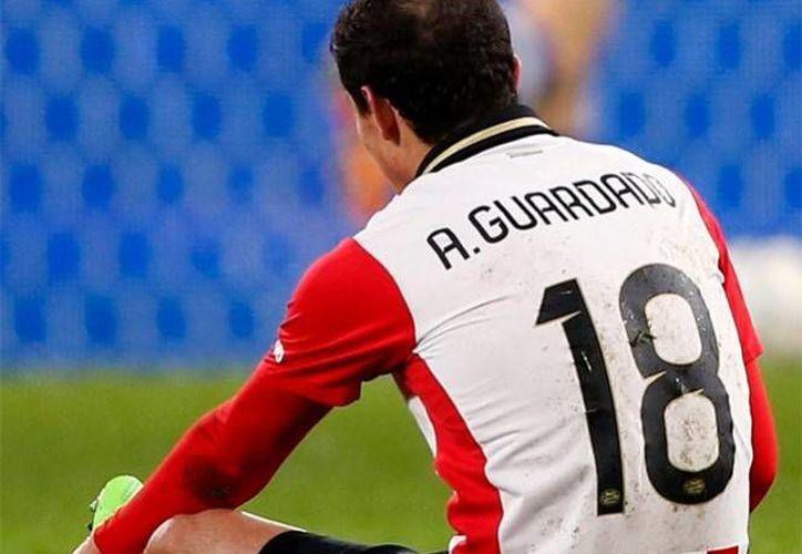 El PSV confirmó la lesión y se espera que en estos días comience con los trabajos de rehabilitación. (Foto tomada de www.psv.nl)