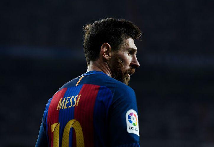 El argentino Leo Messi ha firmado un nuevo contrato con el Barcelona hasta junio de 2021. (Foto: Tappse)
