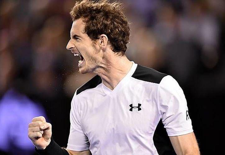 Murray requirió poco más de cuatro horas para imponerse al tenista canadiense en el segundo partido de semifinales del Abierto de Australia.(AP)