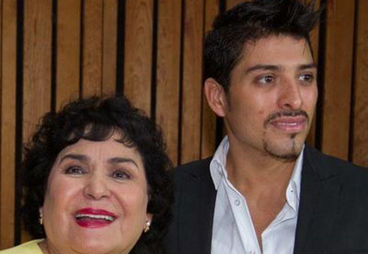 """El productor del musical """"Perfume de Gardenia"""", Omar Suárez, le realizará un homenaje a Carmen Salinas por sus 60 años de trayectoria artística. (Notimex)"""