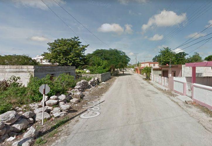 El cuerpo de un exmaestro que fue hallado en Dzidzantún podría tratarse de un asesinato. (Google Maps)