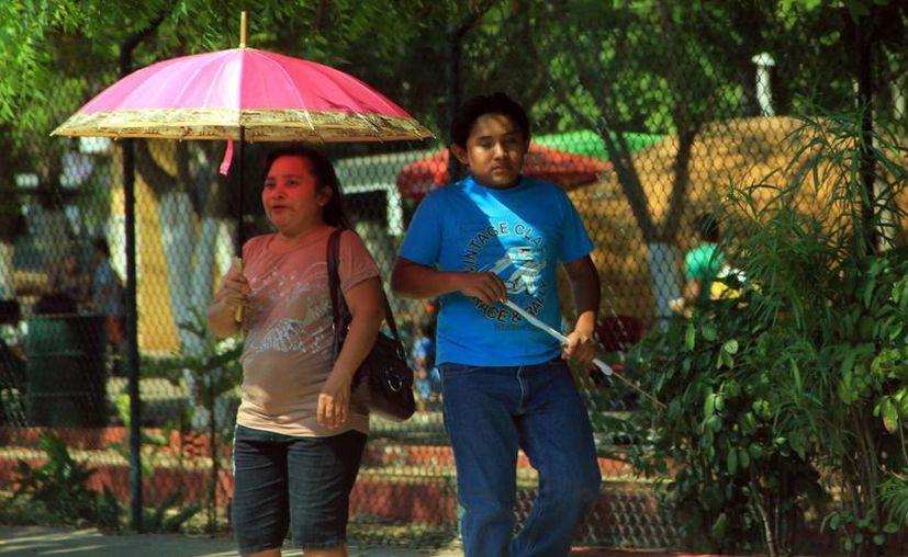 El calor extremo prevalecerá este domingo en Mérida. (SIPSE)
