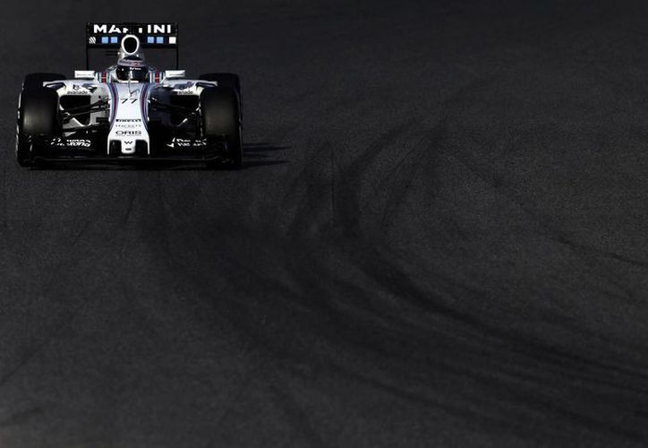 El finlandés Valterri Bottas logró el registro más veloz de la jornada de prueba en el Circuito de Montmeló, en Barcelona. (EFE)