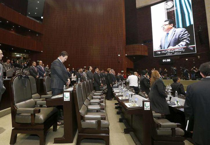 Los diputados aprobaron con 299 votos el dictamen de la Ley de Transición Energética. (Notimex)