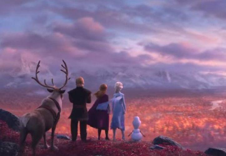 Elsa, Anna, Kristoff y Olaf enfrentarán nuevas aventuras en Frozen 2. (Disney)