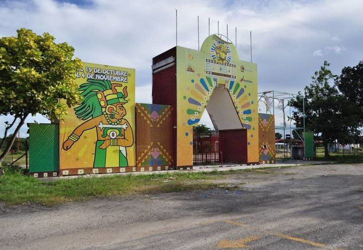 """La empresa """"Atracciones García"""" ha rentado los terrenos de la Expofer para llevar a cabo el evento. (Cortesía/SIPSE)"""