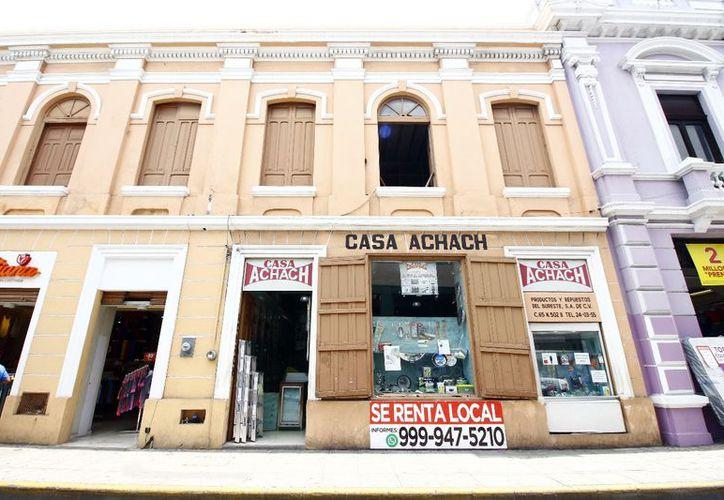 """Por muchos años """"Casa Achach"""" fue referente en el centro meridano. (Milenio Novedades)"""