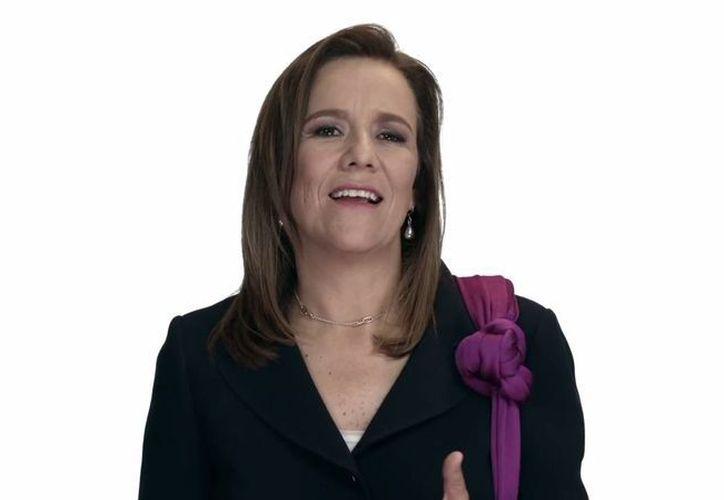 Margarita Zavala se dijo convencida de que en 2018 México podrá tener un buen gobierno. (Captura de pantalla/YouTube)