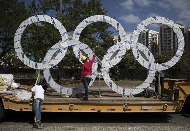 Los últimos detalles para Río 2016 se están realizando. (AP)