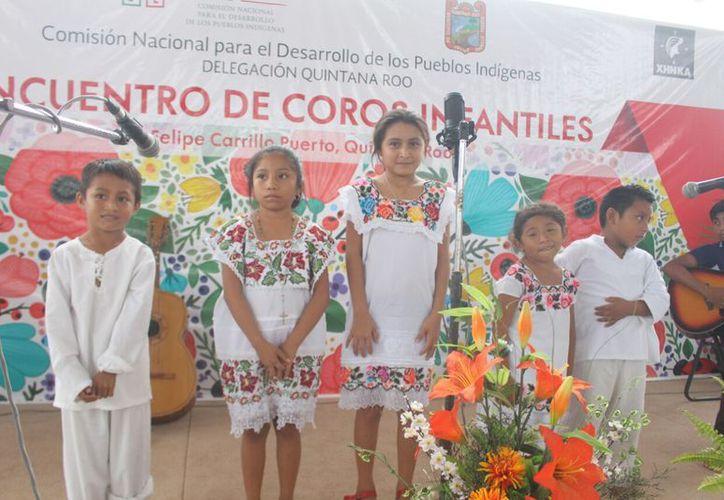 """La asignatura """"Maya"""" se aplica a los menores desde la educación básica. (Foto: Jesús Caamal/SIPSE)"""
