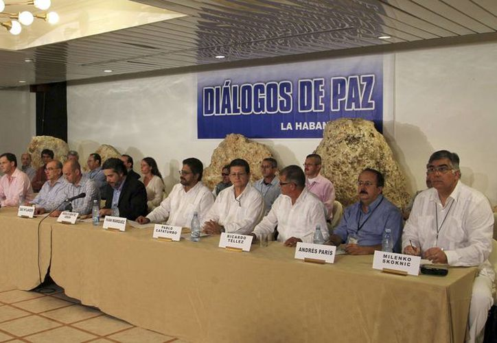 Las FARC se muestran optimistas por los avances logrados hasta el momento. (Agencias)