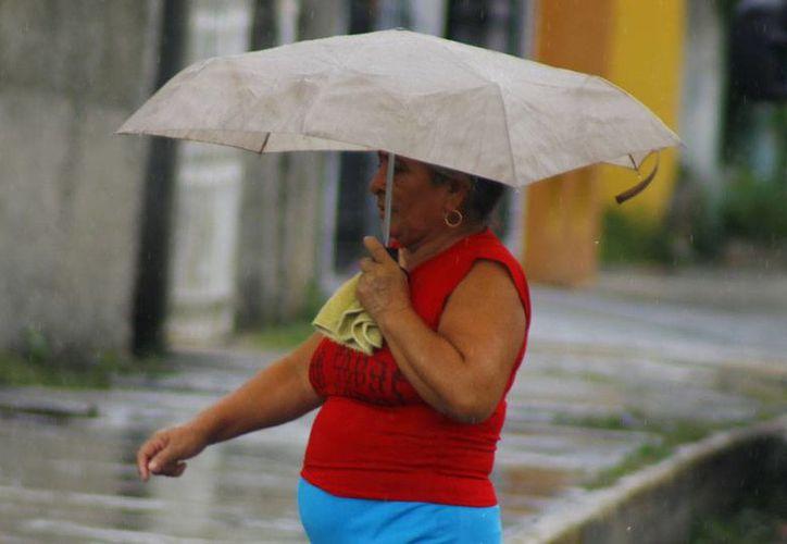 Tome previsiones y saque el paraguas porque hay 80 por ciento de probabilidad de lluvia en Yucatán. (Juan C. Albornoz/SIPSE)