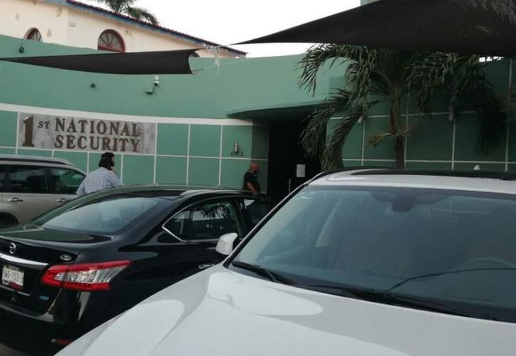El robo se registró en el estacionamiento de la empresa First National Security, ubicada en Prolongación Paseo de Montejo. (SIPSE)