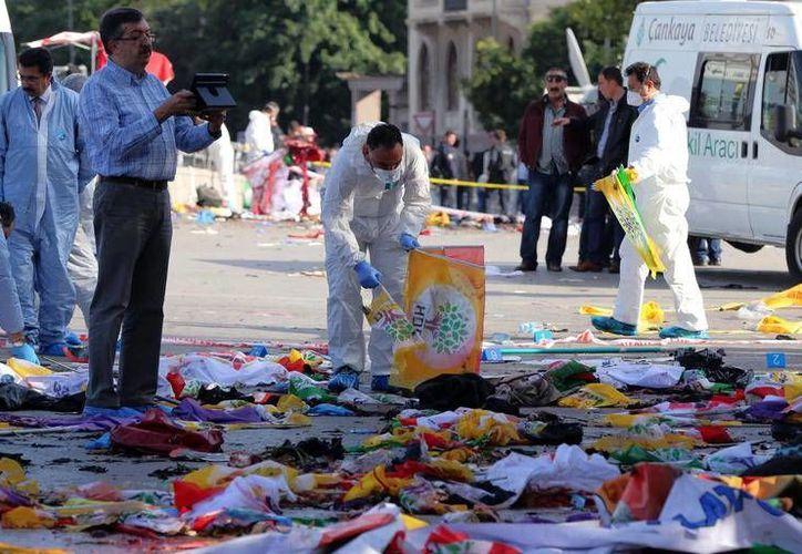 Turquía continúa con las investigaciones que permitan dar con los responsables del atentado del pasado 10 de octubre. (Archivo/AP)