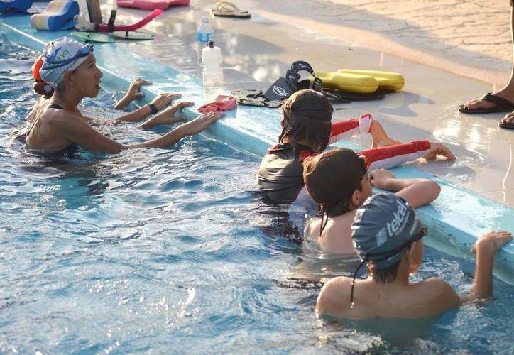Seis nadadores solidarenses se compiten en el Torneo Internacional Casablanca.  (Foto de contexto/SIPSE)