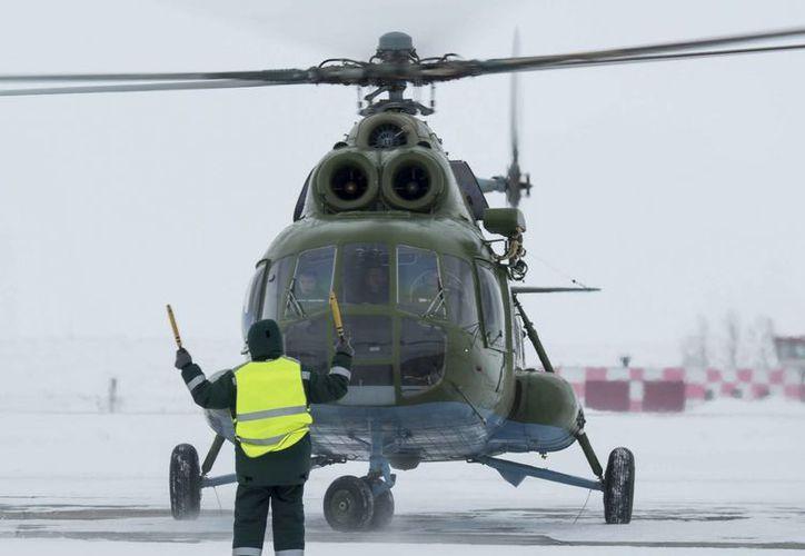 El helicóptero MI-8 es uno de los helicópteros de transporte más utilizados en el mundo debido a que su desempeño es bueno en diferentes condiciones y temperaturas. (Archivo/EFE)