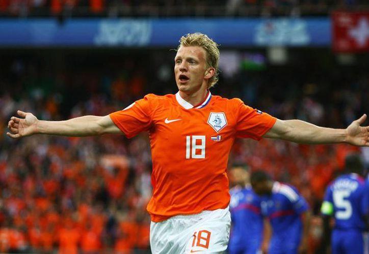 Dirk Kuyt cobró fama mundial por sus grandes partidos con la camiseta del Liverpool, y con Holanda llegó a la final del Mundial de 2010, ganada 1-0 por España. (onedio.com)