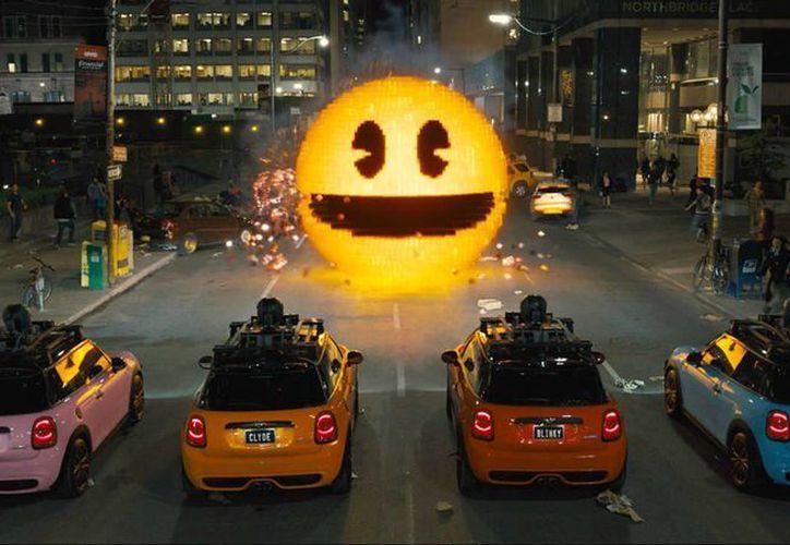 El largometraje de Sony Pictures fue vista en su primer fin de semana por un millón 113 mil 134 personas, por lo que desplazó al segundo lugar a la animación 'Minions', la foto es una escena del filme. (atomix.vg)