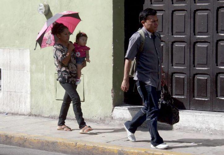 El calor continuará imperando en Mérida en estos días. (Christian Ayala/SIPSE)