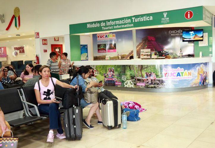 Las aerolíneas internacionales ocupan el primer lugar en retrasos de vuelos en la entidad. (Foto: Milenio novedades)