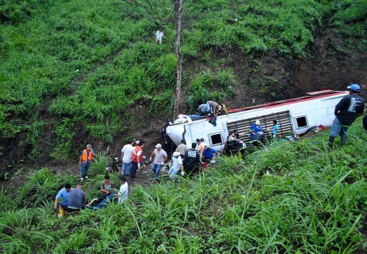 Las víctimas del accidente carretero fueron trasladadas a hospitales de las ciudades de Joinville y Jaraguá do Sul, ambas en Santa Catarina, y Curitiba, capital de Paraná. (Imagen referencial/EFE/Archivo)
