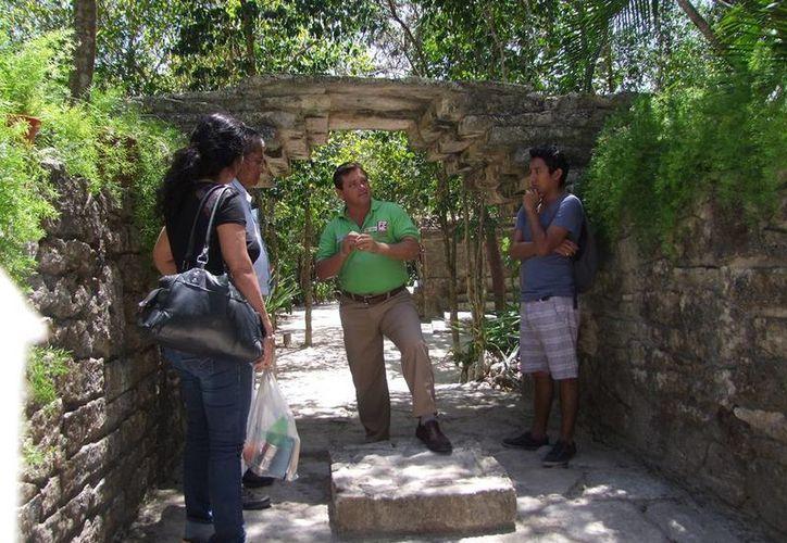 Los trabajadores disfrutaron de un recorrido en el parque ecoturístico Chankanaab. (Julián Miranda/SIPSE)