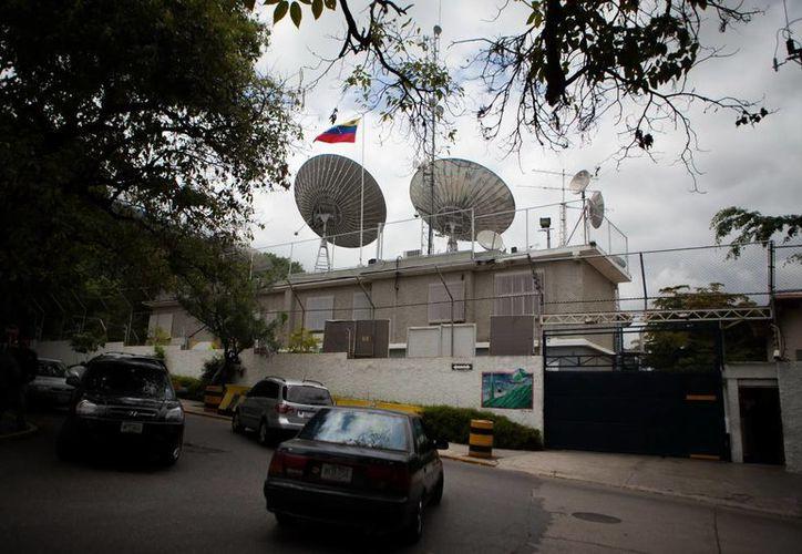 Vista general de la fachada del canal de televisión Globovision de Venezuela, en Caracas, Venezuela. (Archivo/EFE)