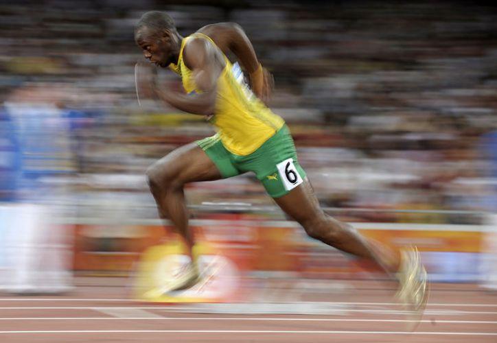 Como es costumbre, Usain, sin esforzarse se llevó la competencia. (Foto: Internet).