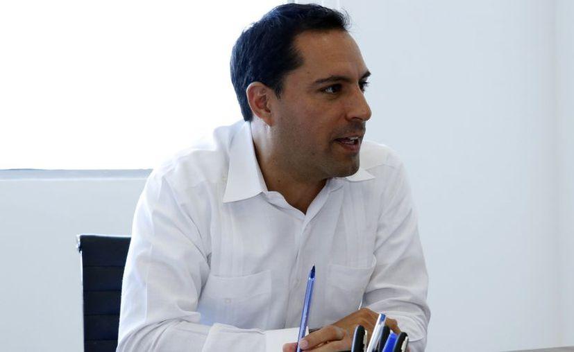 Mauricio Vila asume el cargo de Gobernador este lunes: (Foto: José Acosta/Milenio Novedades)