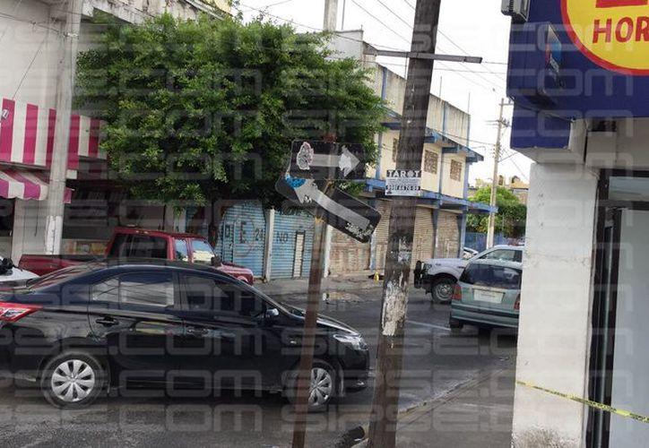 Se espera la llegada de la Policía Ministerial y de los peritos. (Luis Hernández/ SIPSE)