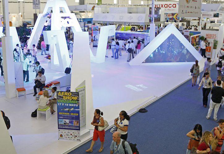 Los organizadores confirmaron 37 mil citas de negocios, lo que representa 20% más que en la edición pasada en Acapulco. (Foto: Jesús Tijerina/SIPSE)
