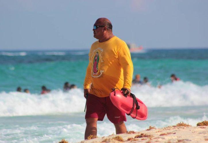 La mayoría de los salvamentos llevados a cabo el año anterior sucedieron en la playa San Martín, y en Chen Río en menor medida. (Gustavo Villegas/SIPSE)
