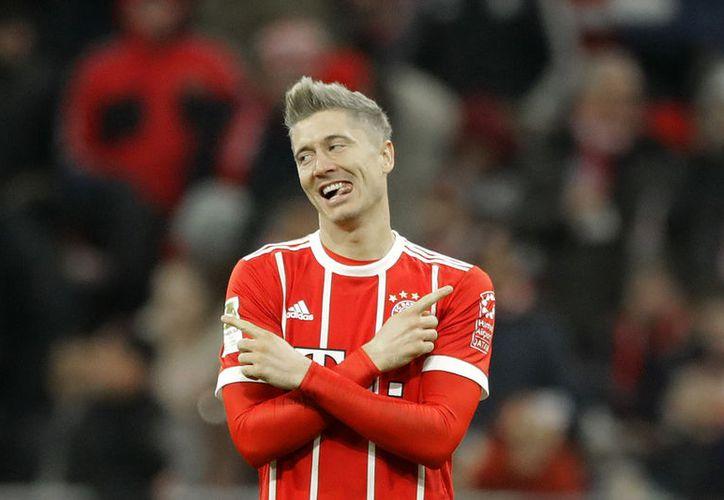 El 'killer' polaco, Robert Lewandowski del Bayern Munich podría ser el nuevo jugador del Real Madrid por más de 150 millones de euros. (Vanguardia MX)