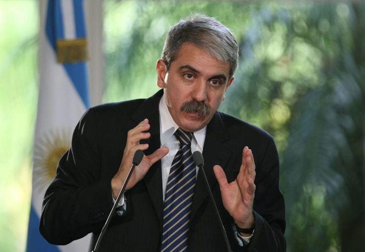 Aníbal Fernández, jefe del gabinete argentino, pidió respeto por la persona del extinto fiscal Alberto Nisman. (EFE)