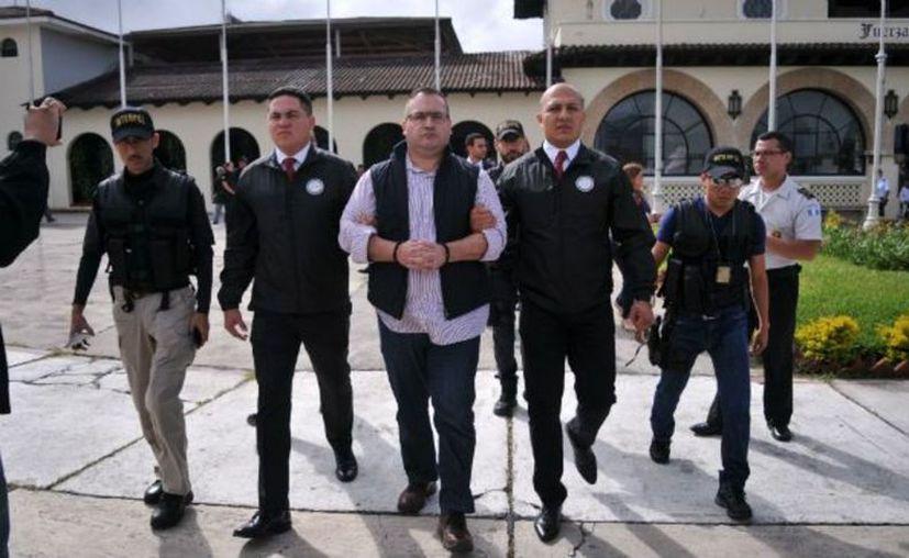 Duarte está en el área de Ingreso del Reclusorio Norte, en una zona pequeña que cuenta con algunas medidas de seguridad extraordinarias. (Vanguardia)