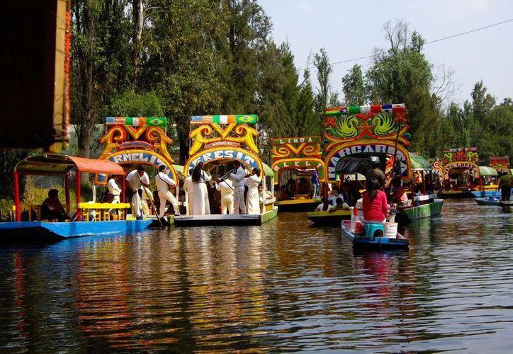 La Unesco proclamó las chinampas de Xochimilco como patrimonio de la humanidad. (Redacción/SIPSE)