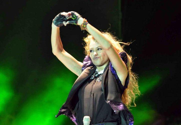 Paulina Rubio ha vendido más de 20 millones de discos a lo largo de su carrera. (Archivo Notimex)
