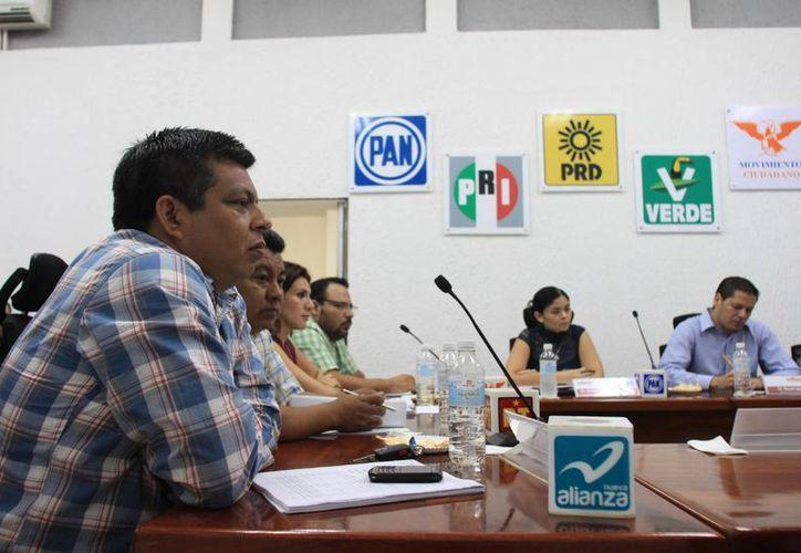 Armando Palomo Gómez, representante del Panal ante el Consejo General del Ieqroo. (Harold Alcocer/SIPSE)
