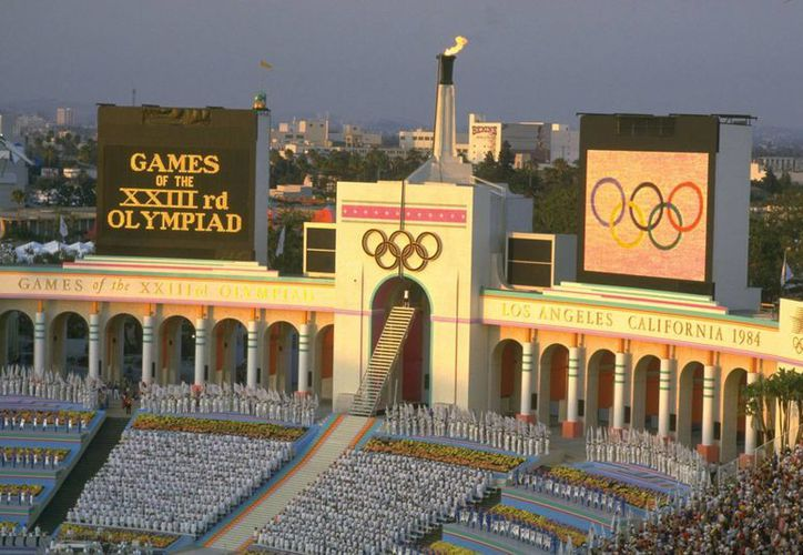 Los Ángeles ya albergó los Juegos Olímpicos en 1932 y 1984. Ahora buscará ser la sede de los de 2024. (Archivo/Agencias)