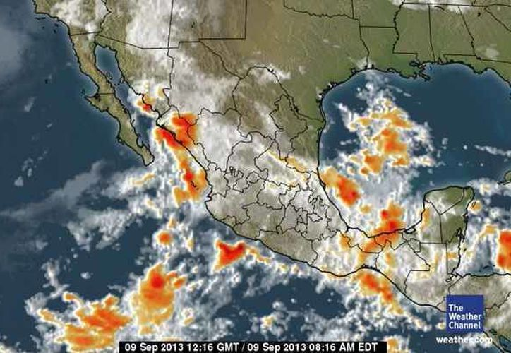 La probabilidad de precipitación es de 60%, la temperatura actual es de 23 grados centígrados. (espanol.weather.com)